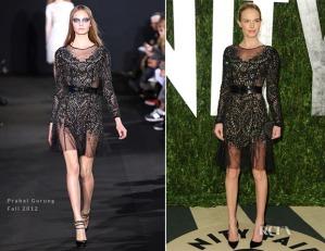 Kate-Bosworth-In-Prabal-Gurung Fall2012